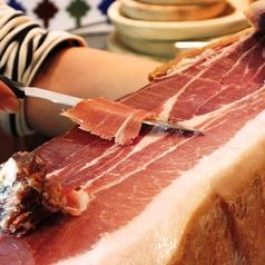 料理メニュー写真スペイン産 生ハム ハモン・セラーノ