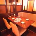 ゆったり寛げるテーブル席は、少人数のワイワイ飲みにも最適☆個室や、半個室もご用意ございます◎詳しくはお店までお問い合わせください!【橋本/居酒屋/飲み放題】