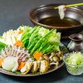 料理メニュー写真豪華海鮮の贅沢しゃぶしゃぶ
