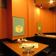 4名様テーブル席♪様々なテーブル席を各種ご用意してしてますので、人数に応じて最適なお席のご案内が可能です!