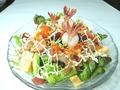 料理メニュー写真海鮮サラダ/海老Qサラダ