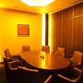 完全個室のVIPルーム★個室は8名までOK、大事な接待や会食にご利用くださいませ
