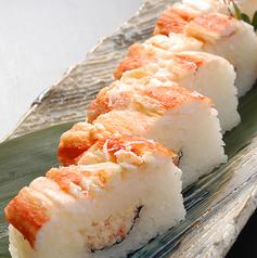 料理メニュー写真たらばの蟹寿司