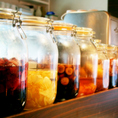 様々なフルール酢をご用意しております。