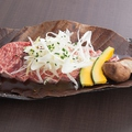 料理メニュー写真牛サーロインの朴葉焼き