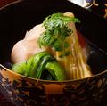 料理メニュー写真金目鯛の飯蒸し(コースメニュー一例)