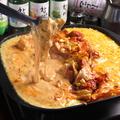料理メニュー写真チーズタッカルビ 1鍋