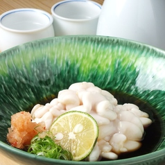 料理メニュー写真真鱈の白子ポン酢