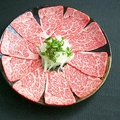 料理メニュー写真【和牛上ロースしゃぶ焼き】