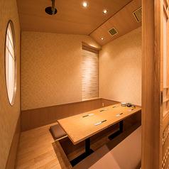 【完全個室席】4名~6名様までご利用可能です。