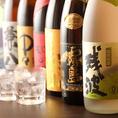 和食は、やはり日本酒や焼酎とともに楽しみたいもの。全国各地から日本酒、焼酎を豊富に取り揃えております。定番で人気のものだけでなく、居酒屋ではめったにお目にかかれない希少な地酒や焼酎、特別なお食事の場に相応しいものもご用意しております。シーンに合わせてお召し上がりください。
