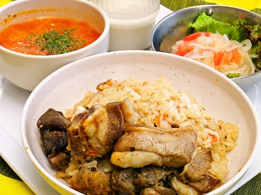 JICA関西食堂のおすすめ料理1