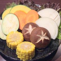 料理メニュー写真焼き野菜6種盛り