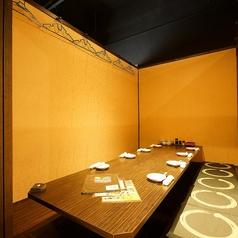 10名様規模の宴会にも自慢の完全個室♪当日コース予約や席のみ予約も大歓迎♪