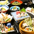 【松コース】全10品 5400円贅沢食材を使った納得のコース内容☆