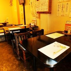 4名席×2テーブル最大8名様までテーブル貸切可能!