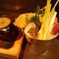 料理メニュー写真【新鮮野菜&生食】情熱野菜!農園バーニャカウダ