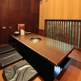 ◆完全個室6名様◆ちょっとした飲み会やご家族でのお食事に◎個室同士をくっつけて団体様のお席もご用意できます!!