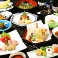 【竹コース】全10品 4800円新鮮食材、10品ボリューム満点のコース☆