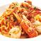 渡り蟹のトマトクリームソース