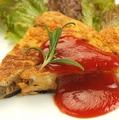 料理メニュー写真農園野菜のスペイン風オムレツ(野菜使用量145g)