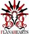 フラナハーツ FLANAHEARTSのロゴ
