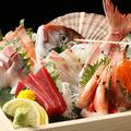 料理メニュー写真お刺身大漁盛り