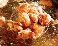 料理メニュー写真若どり唐揚げ/大盛りポテト/手作りかきフライ