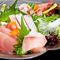 新鮮で旬な地魚を厳選し、映える盛り付けでご提供♪
