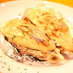 料理メニュー写真広島産 カキのかに味噌焼き