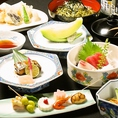 【梅コース】全8品 4300円毎日魚河岸で仕入れた一番旬で新鮮な食材をご提供☆