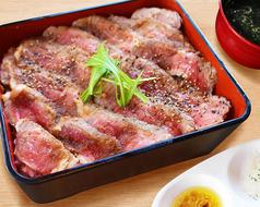 近江牛 ステーキ重