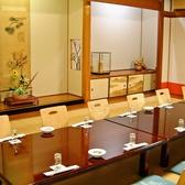 落ち着いた個室なので、結納・法事・会社の集まりや接待に最適です。