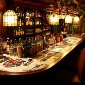 貸切時にはバーカウンターでお酒をオーダー♪