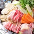 料理メニュー写真海鮮塩だしちゃんこ鍋