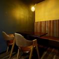 【2F】2名~4名様のテーブル席をご用意。「食楽バルTAKEO土浦店」はデートや女子会などの少人数でのご利用もOK♪周りを気にせずお食事をお楽しみいただけます。