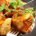 料理メニュー写真(オススメ!!)豚バラ肉のトマトビール煮