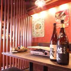 ◆本場博多の九州料理!日本酒・焼酎とご一緒に♪鹿児島県のやや辛口の通に人気の銘柄。かなりの白濁でかなりの芋くささが特徴の、鶴見や紫芋で仕込む事によってフルーティな味わいに。柔らかな口あたりの紫の赤兎馬多種多様な焼酎をお楽しみください♪