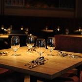 メインダイニングの4名様テーブル(3テーブル)