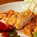料理メニュー写真山梨産健味鶏のカツ