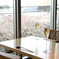 【東京都内】お花見ランチ!店内から桜が見える、おすすめ店を教えて