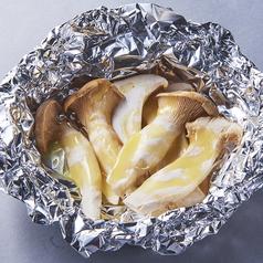 料理メニュー写真じゃがバター/エリンギバター