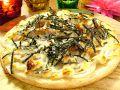 料理メニュー写真照り焼きマヨネーズピザ
