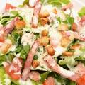 料理メニュー写真粉雪チーズのシーザーサラダ