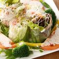料理メニュー写真鶏ササミのアジアン生ハルマキサラダ