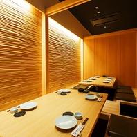 個室は7部屋ご用意してます。小規模~大規模宴会まで!