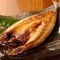 料理メニュー写真金華サバの一夜干し 一枚焼き