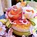 ■お祝いに■特別寿司ケーキやメッセージ付デザート盛り
