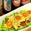 料理メニュー写真チーズロコモコ(サラダ付)