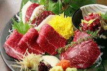 熊本の馬肉料理のイメージ写真